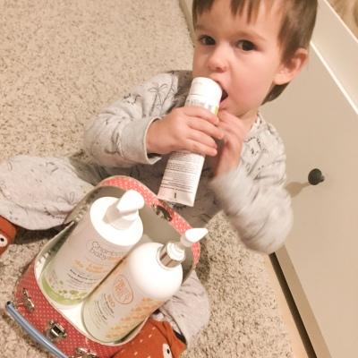 Test produits charlotte baby bio